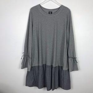 Bobeau Tee shirt dress 1X